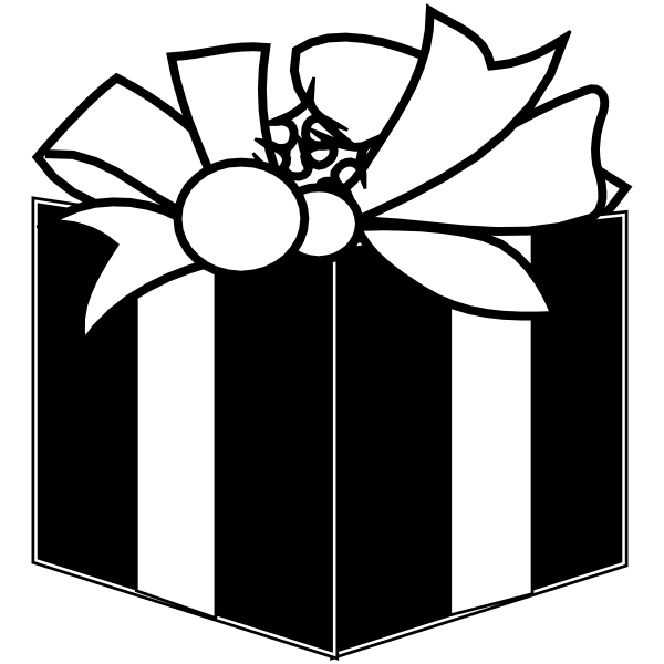 Gift Present Stamp