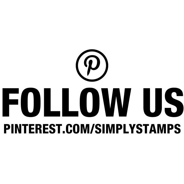 Follow Us On Pinterest URL Stamp