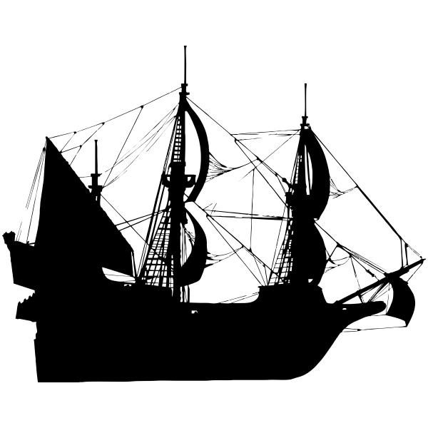 Clipper Ship Craft Stamp