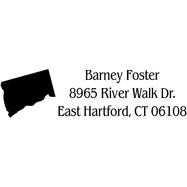 Connecticut Return Address Stamp