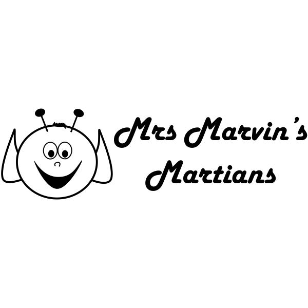 Custom 2 Line Martian Rubber Teacher Stamp