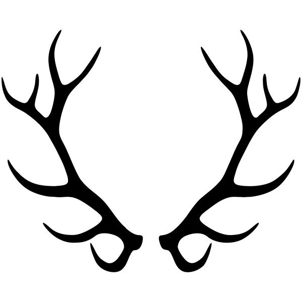Elk Antlers Craft Stamp