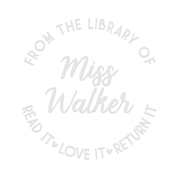 Read It Love It Return It Teacher Embosser