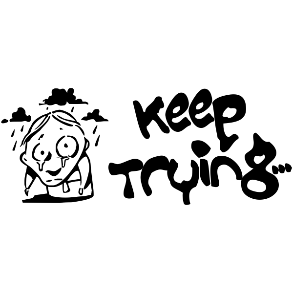 Feedback - Keep Trying Zombie Rubber Teacher Stamp