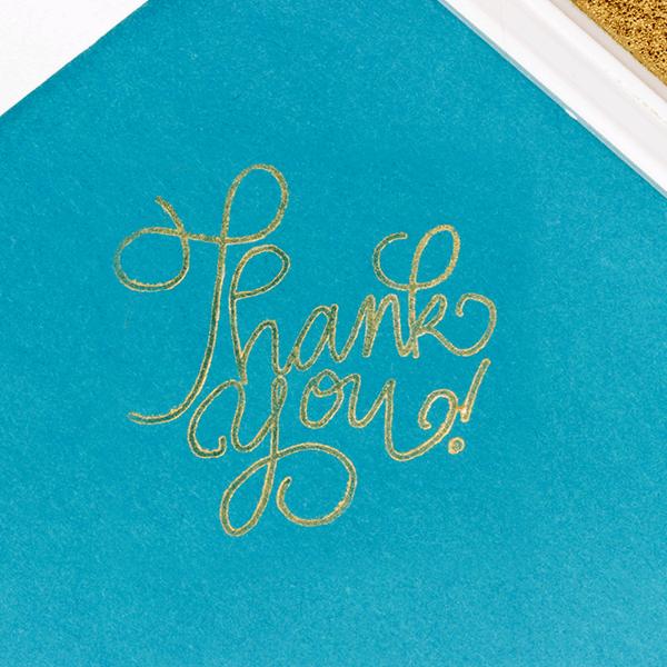 Metallic Gold Craft Ink Pad