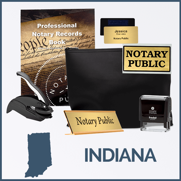 Indiana Deluxe Notary Kit