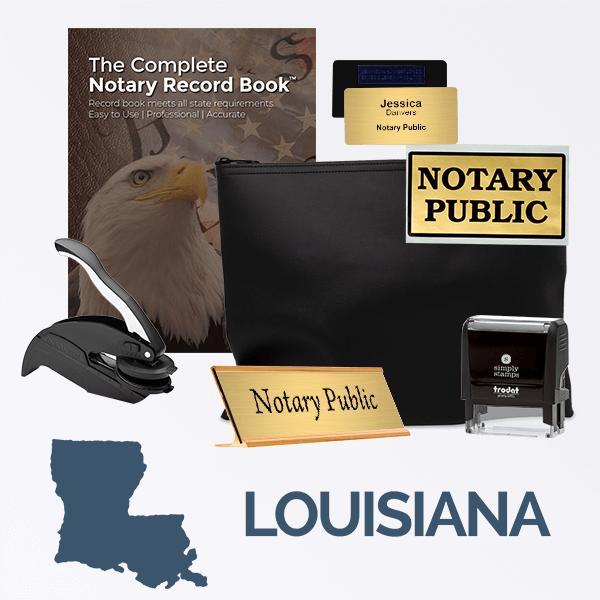 Louisiana Deluxe Notary Kit