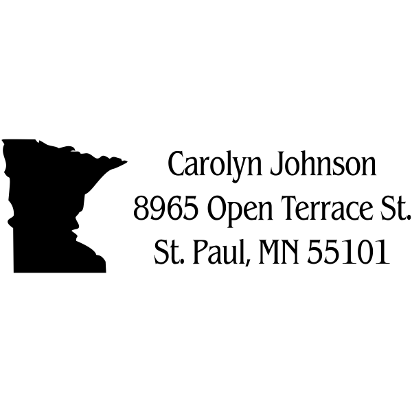 Minnesota Return Address Stamp