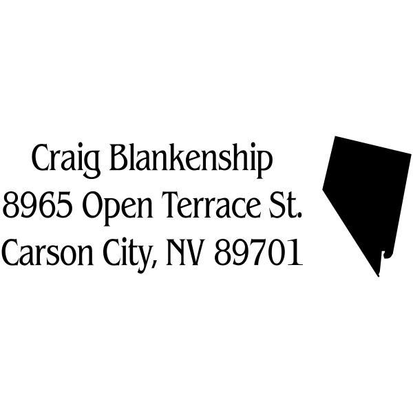 Nevada Return Address Stamp