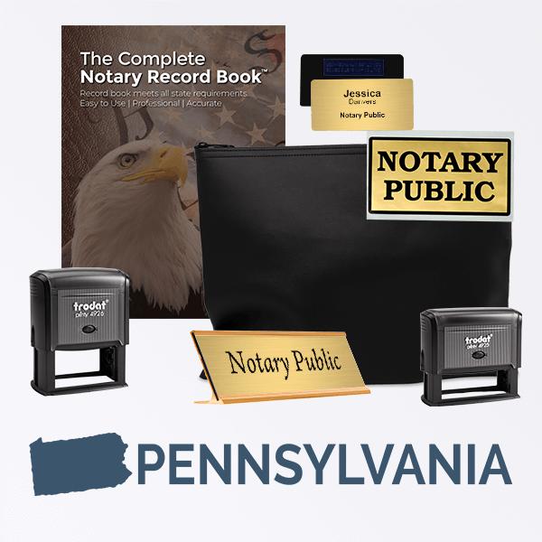 Pennsylvania Deluxe Notary Kit