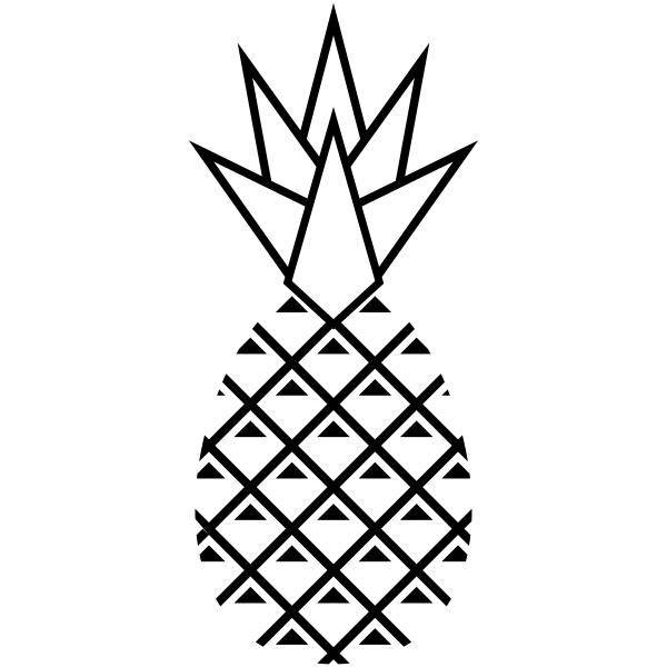 Pineapple Craft Stamp