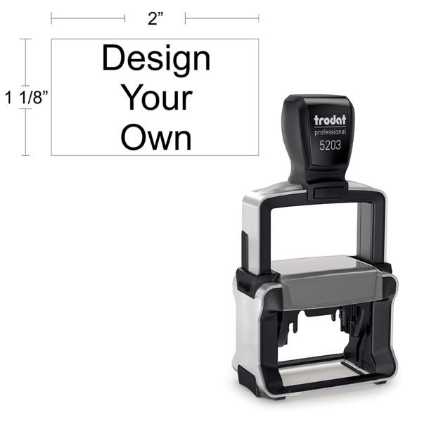 Customizable Trodat Professional 5203 Body and Design
