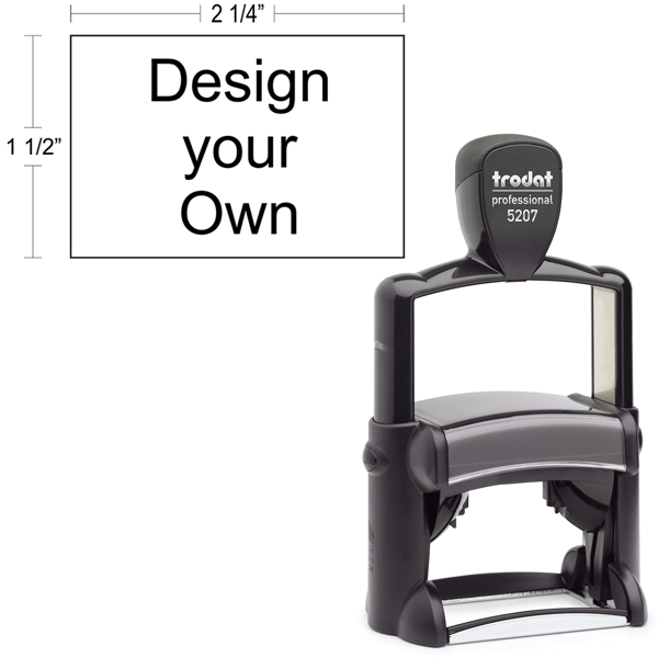 Trodat Professional  5203 | Ideal 6500 Self-Inking Stamp Model