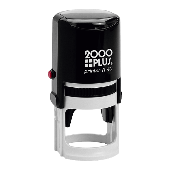 2000Plus Round Stamps