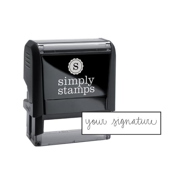 Small Signature Stamp