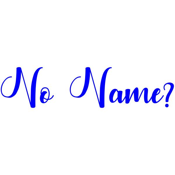 Teacher Stamp for Missing Name