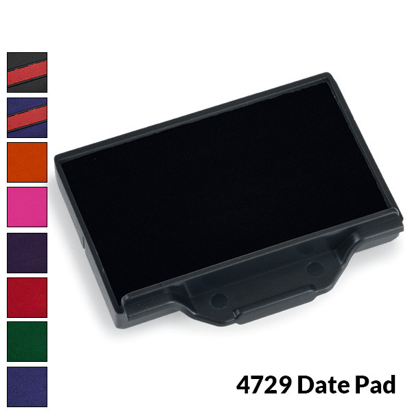 Trodat 4729 Ink Pad for Large Custom Date Stamp