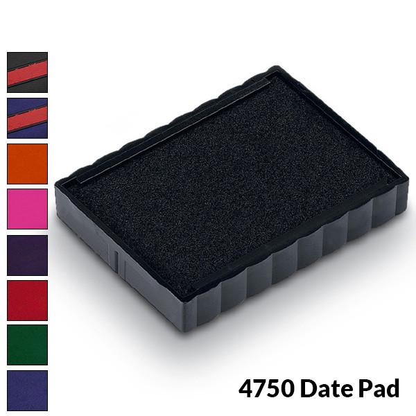 Trodat 4750 - Ink Pad for Medium Custom Date Stamp