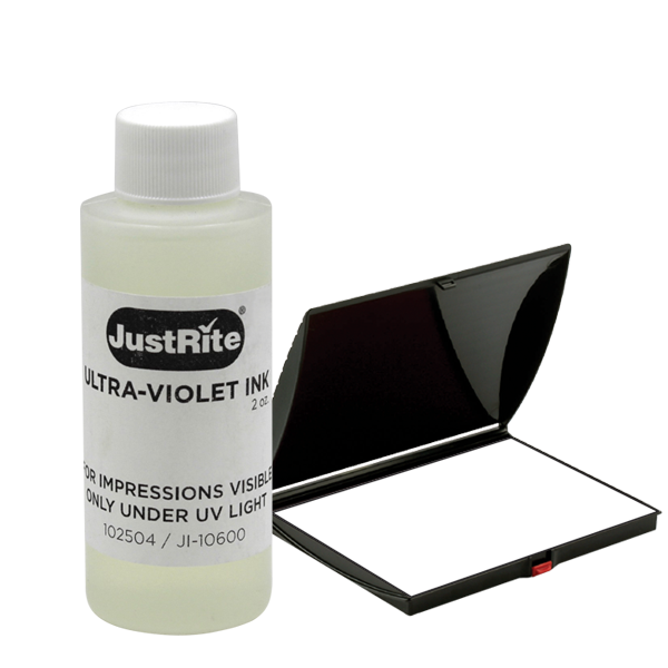 Ultra Violet (Invisible) Ink Refill Bottle With Dry Pad