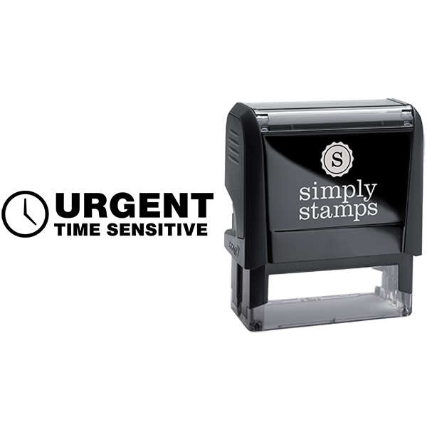 Urgent Time Sensitive Business Stamp