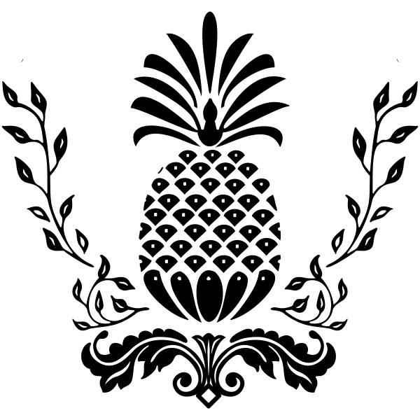 Victorian Pineapple Craft Stamp
