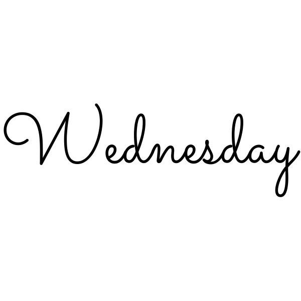 Wednesday Journal Stamp