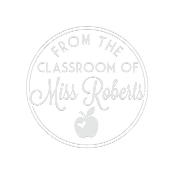 Classroom Apple Teacher Embosser