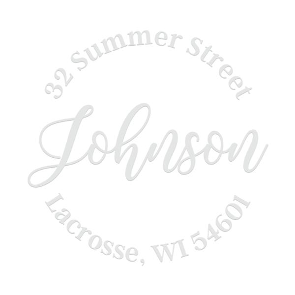 Summer Script Address Embosser