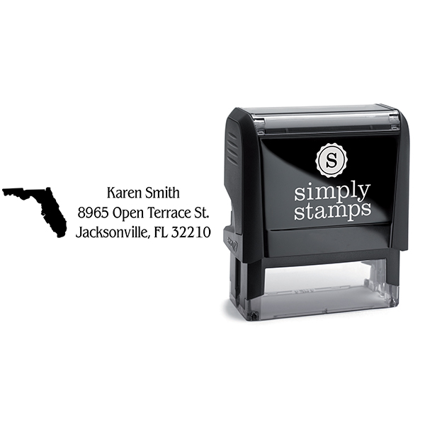 Florida Return Address Stamp Body and Design
