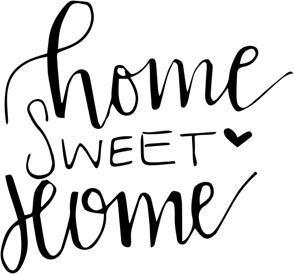 Home Sweet Home Stamp