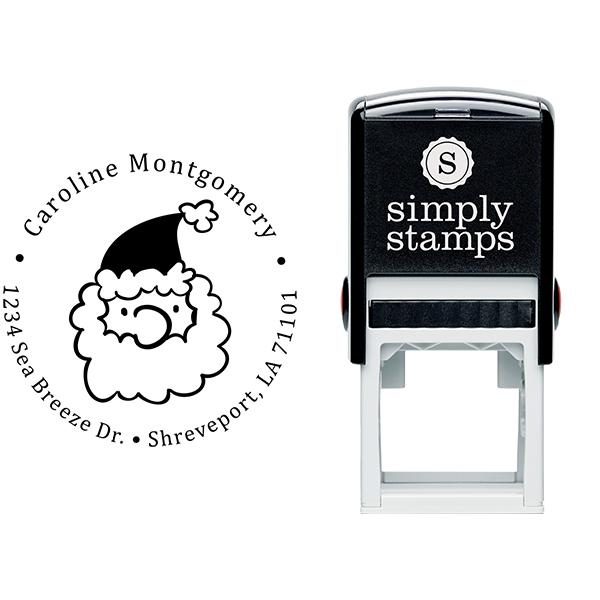Montgomery Santa Claus Return Address Stamp Body and Imprint