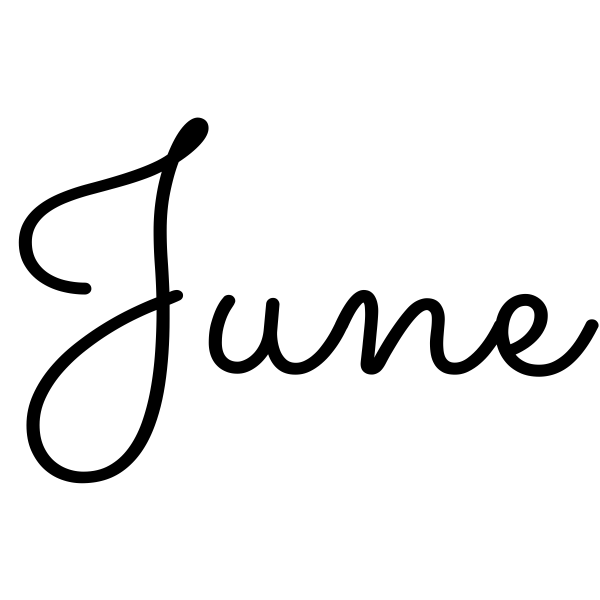 June Journal Stamp