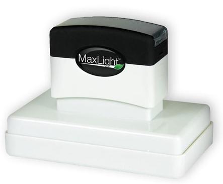 MaxLight Custom Pre-Inked Stamp - MAX-800Z