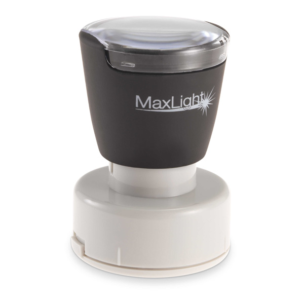MaxLight Custom Pre-Inked Stamp - MAX-495Z - Black Ink