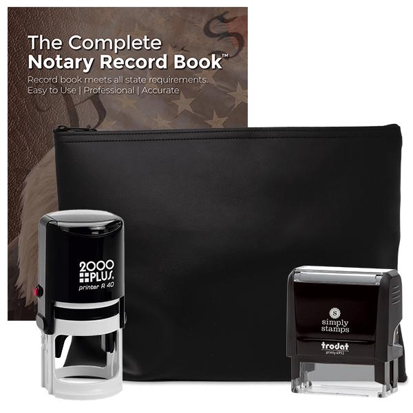 North Dakota Common Notary Kit