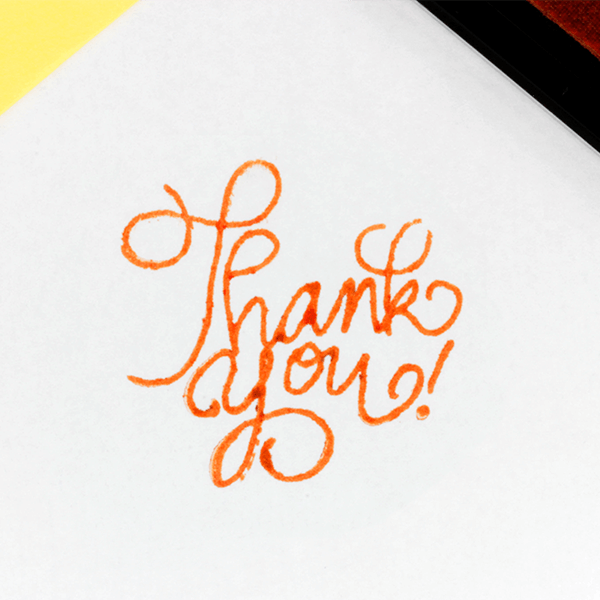 Orange Craft Ink Pad
