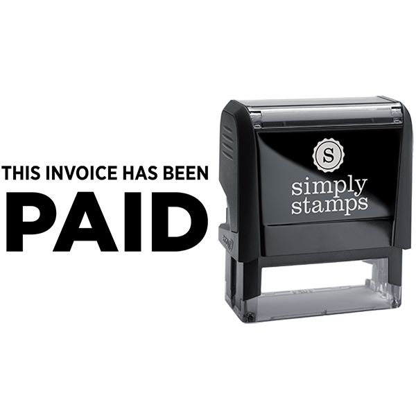 Invoice Has Been Paid Business Stamp
