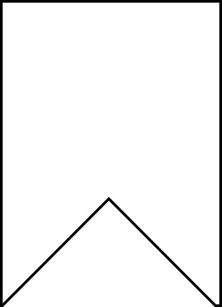 Pennant Flag Journal Stamp