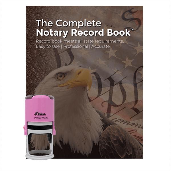 Puerto Rico Pink Value Notary Kit