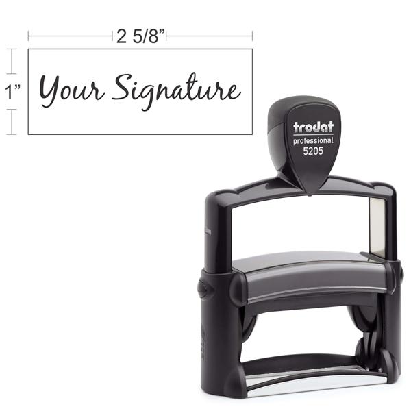 Trodat Professional 5205 | Signature Stamp