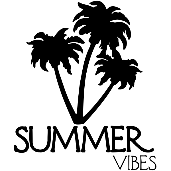Summer Vibes Craft Stamp