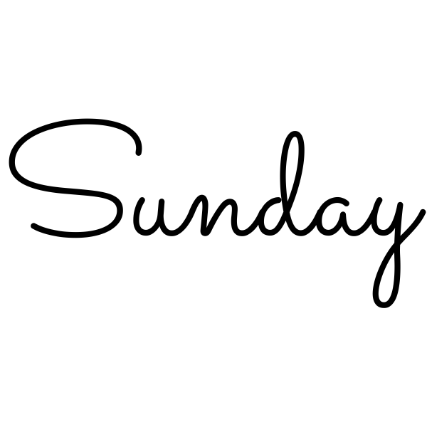 Sunday Journal Stamp