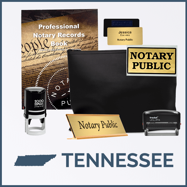 Tennessee Deluxe Notary Kit