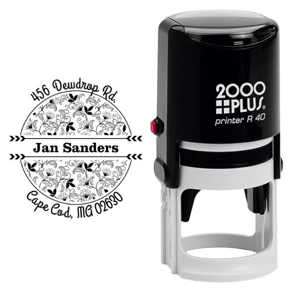 Sanders Return Address Stamp Body and Design