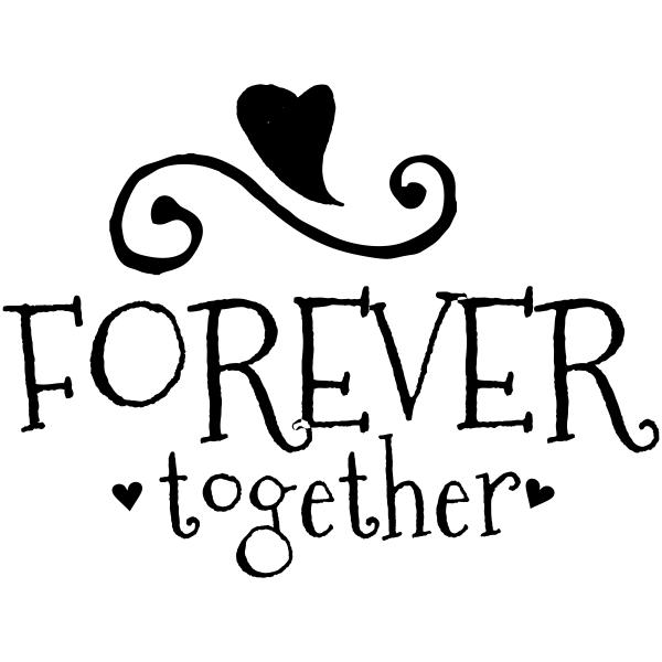Forever Together Craft Stamp