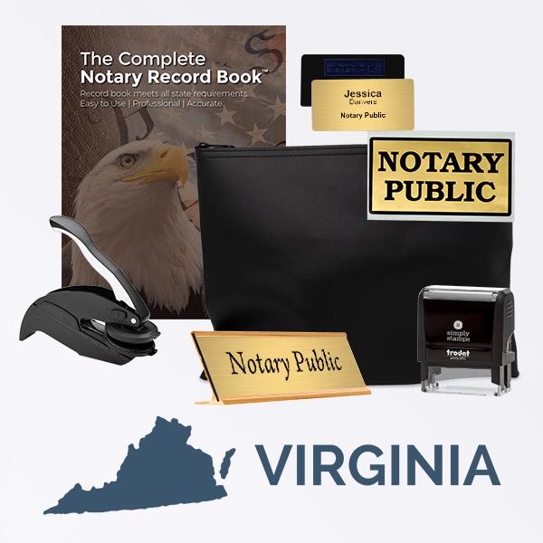 Virginia Deluxe Notary Kit
