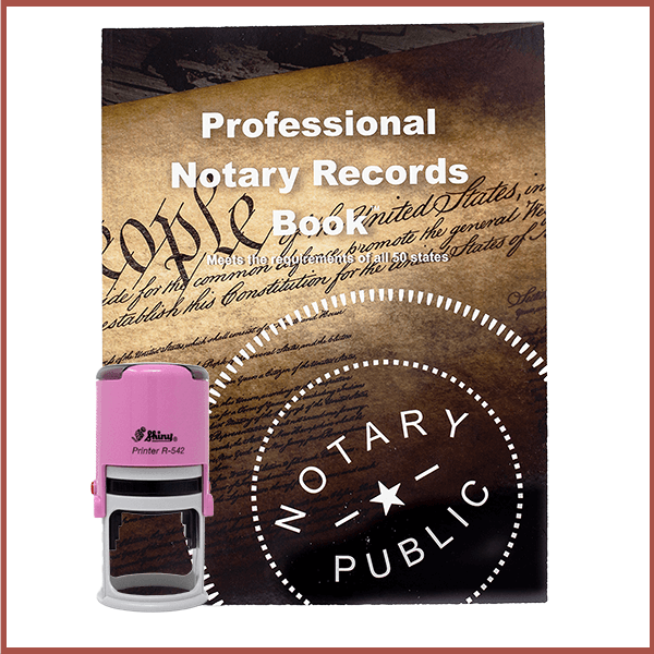 West Virginia Pink Value Notary Kit