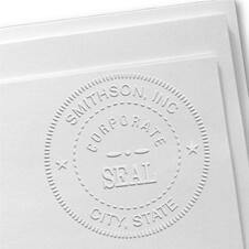 Custom Corporate Seal Embosser