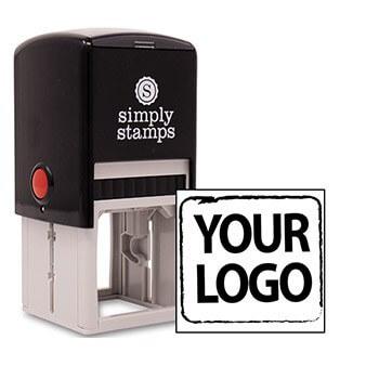 Medium Custom Logo Stamp for Square Logos