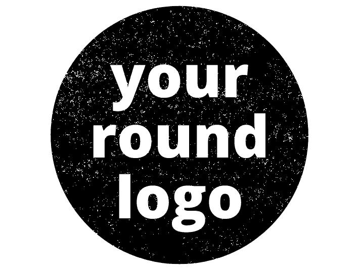 Round Logo Stamp